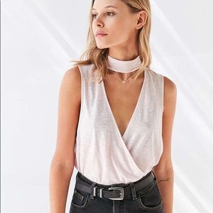 Choker wrap surplace top urban outfitters ASOS